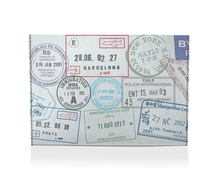 dobra porta cartao passaporte