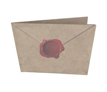 dobra - Nova Carteira Clássica - Carta de Hogwarts