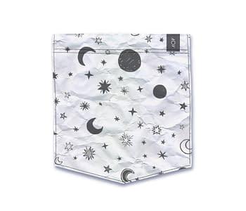 dobra - Bolso - White Moon and Stars
