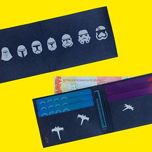 carteiras star wars foto