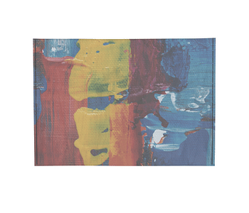 dobra - Porta Cartão - Cores Abstratas