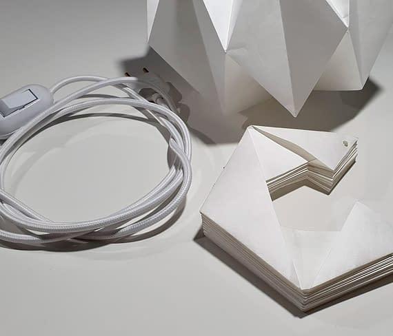luminaria foto desmontada com fio