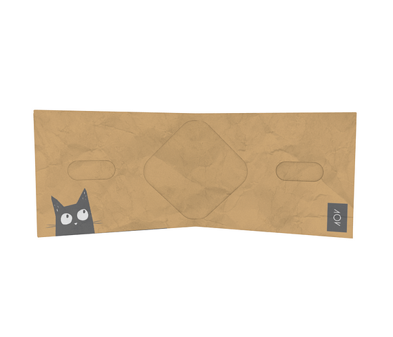 dobra - Nova Carteira Clássica - Gato Pitoco