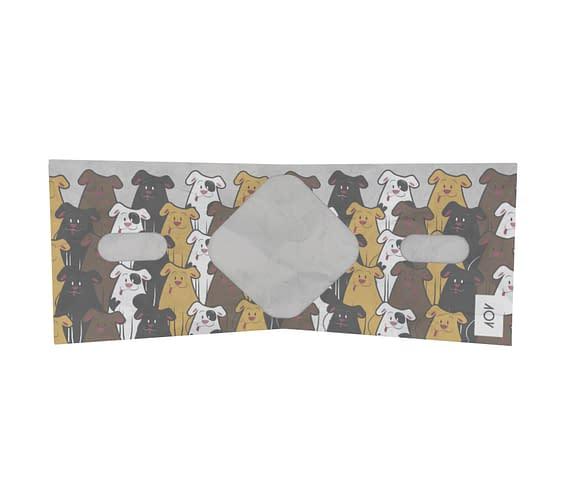 dobra - Nova Carteira Clássica - Dogs da 101