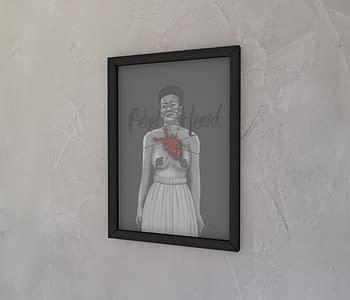 dobra - Quadro - Frida Rebel Heart