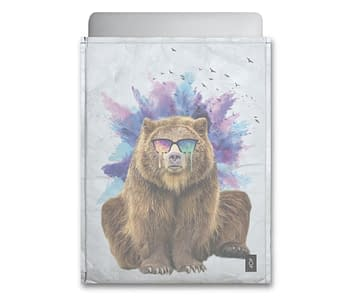 dobra - Capa Notebook - Urso doidão
