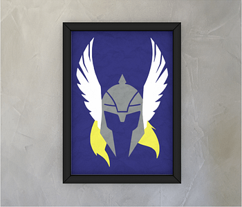 dobra - Quadro - The God of Thunder