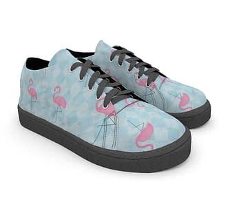 dobra tenis flamingos geometricos