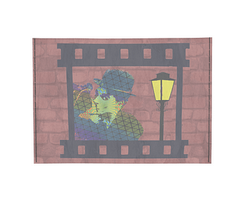 dobra - Porta Cartão - Arte Urbana - Chaplin
