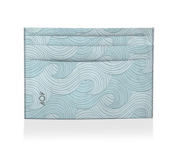 dobra porta cartao blue sea waves