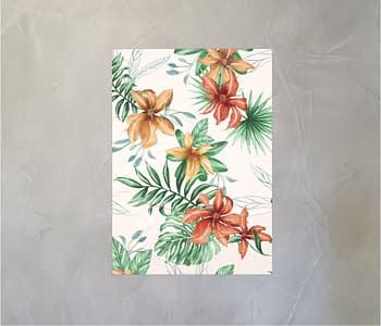 dobra - Lambe Autoadesivo - Floral Tropical