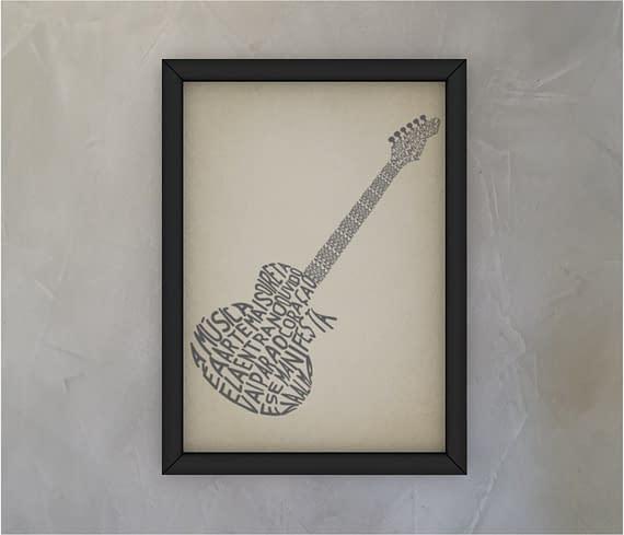 dobra - Quadro - Guitarra
