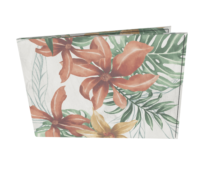 dobra - Carteira Old is Cool - Floral Tropical