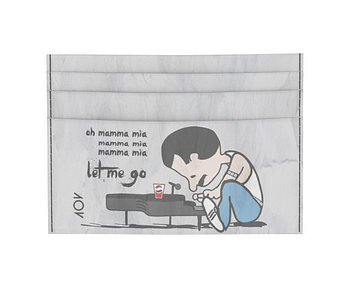 dobra - Porta Cartão - Schroeder Mercury