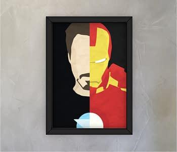 dobra - Quadro - homem de ferro