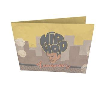 dobra - Nova Carteira Clássica - Hip Hop 4 Elementos Pôr do Sol
