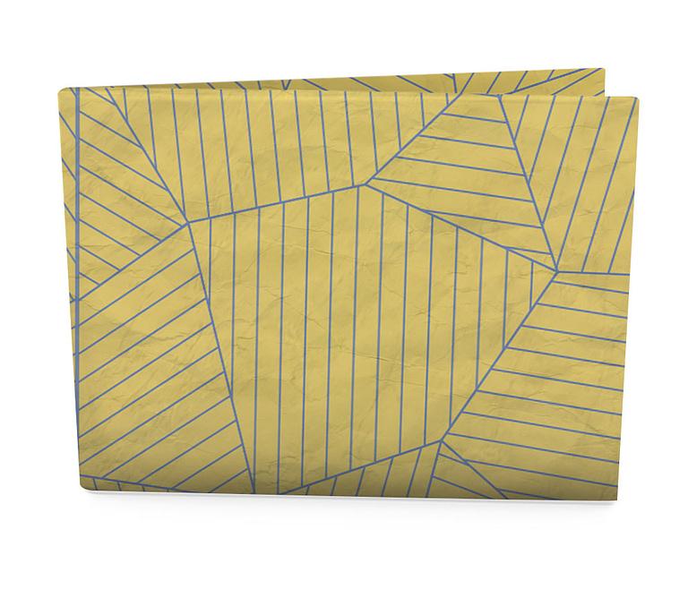 nova carteira clássica - banana nude teia