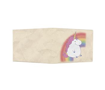 dobra - Nova Carteira Clássica - unicórnio arco-íris