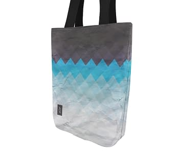 dobra bag xadrez azul degrade