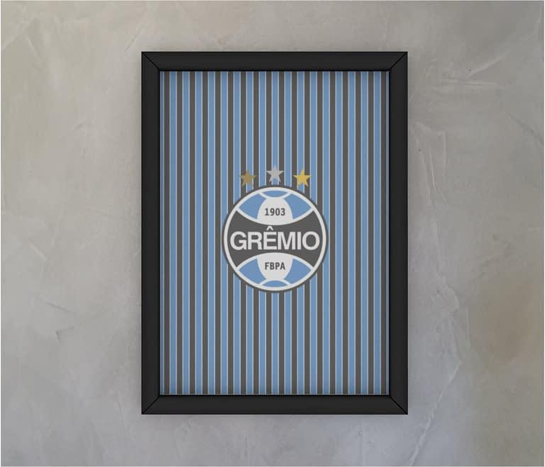 dobra - Quadro - Grêmio   Tricolor tradicional