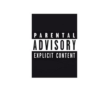 dobra - Lambe Autoadesivo - Parental Advisory